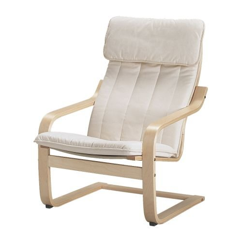 Kleiderschrank Ikea Aus Werbung ~ Ikea Poang Chair Armchair with Cushion, Cover and Frame from amazon