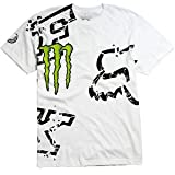 Fox Racing Monster RC Replica Downfall T-Shirt - X-Large/White