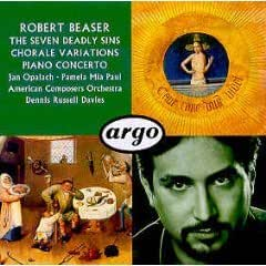 Beaser-the Seven Deady Sins-Concerto Piano-d.Russell Daviesa Merican Composers Orchestra