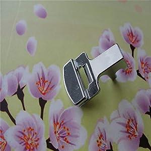 Fabric Presser - New Fold Hem Presser Foot Feet Kit for Sewing Machine Home Tool 2pcs by Ganos