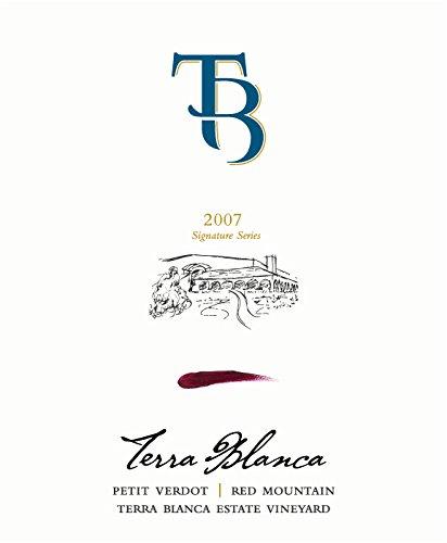 2007 Terra Blanca Signature Series Red Mountain Petit Verdot 750 Ml