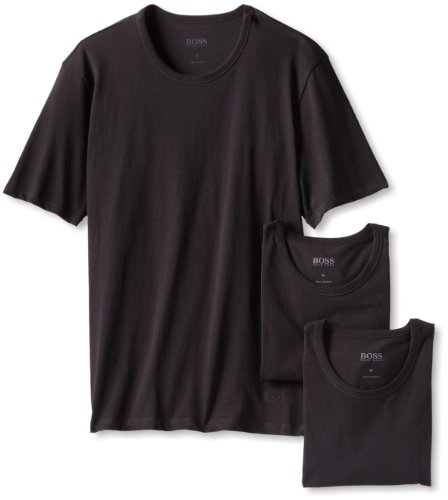 boss-hugo-boss-mens-3-pack-cotton-crew-t-shirt-black-large