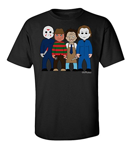VIPWees Slashers mens horror t shirt cult
