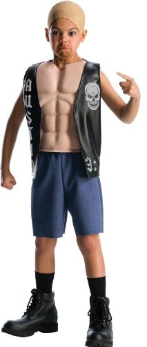 Costumes For All Occasions Ru884303Lg Wwe Stone Cold Dlx Child Lg