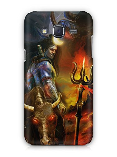 Cover Affair Lord Shiva Printed Back Cover Case for Samsung Galaxy J7 (2015)