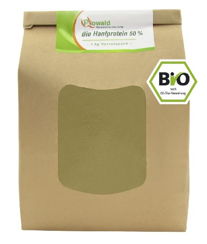 BIO Hanfprotein - 1 kg Vorratspack