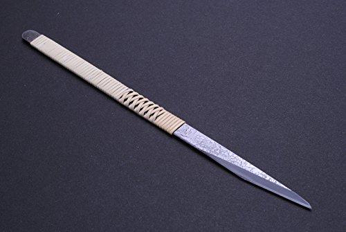 Yoshihiro Shiroko High Carbon Steel Kiridashi Knife 8.5 Inch (215mm) Japanese Chef Tool