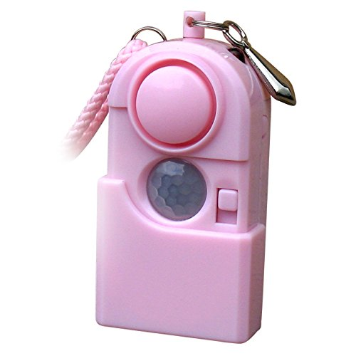 Give The Gift Of Protection This Holiday Season With Our Personal Alarm With Pir Motion Sensor And Led Light Pink. Designed Especially For College Students