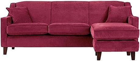 FabHomeDecor Alia Superb Three Seater Sofa (Maroon)