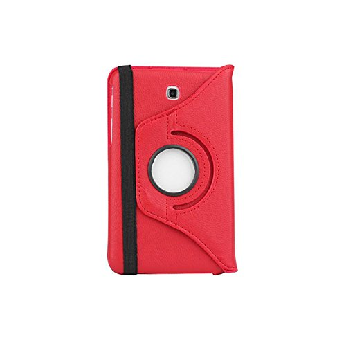 Samsung Galaxy Tab 3 7.0 Case, Nicelin(TM) Lichee Pattern 360 Degrees Rotating Stand PU Leather Case Cover for Samsung Galaxy Tab 3 7.0