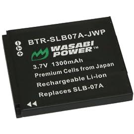 Wasabi Power Battery for Samsung SLB-07B