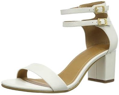 Esprit Cloudy Sandal, Chaussures de ville femme - Blanc (103 Off White), 40 EU