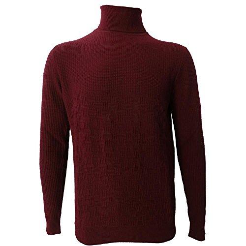 Dolcevita Uomo +39 Masq 0711 - Maglia M90200 33% lana merinos, 33% viscosa, 24% poliammide, 10% cashmere - Made in italy (XL)