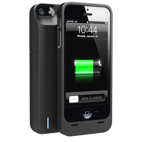 Special Sale uNu Power DX External Protective Battery Case for iPhone 5s / iPhone 5 - MFI Apple Certified (Matte Black, Fits All Models iPhone 5S & iPhone 5)