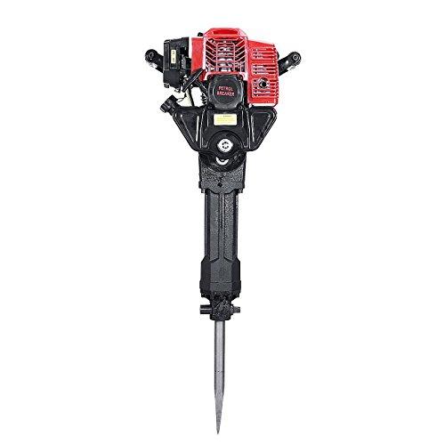 BEAMNOVA 52CC Gasoline Demolition Jack Hammer Concrete Gas Breaker Jackhammer Drill Punch Single Cylinder, Air Cooling