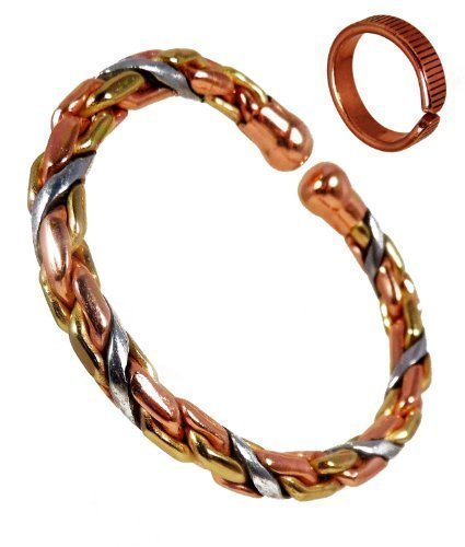 magnetic-copper-brass-and-aluminium-heavy-rope-bracelet-and-etched-on-lines-finish-copper-magnetic-r