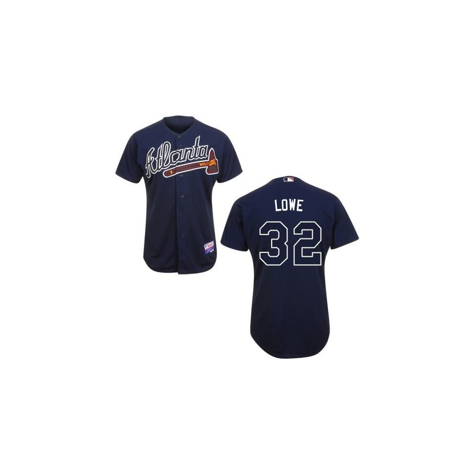 Derek Lowe Atlanta Braves Authentic Alternate Cool Base Jersey
