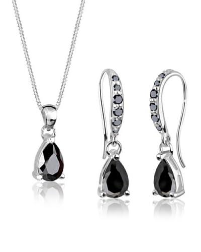 Elli Set catenina, pendente e orecchini  argento 925