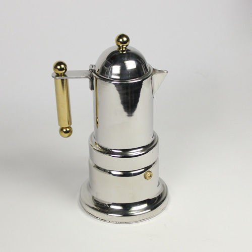 Stainless 4 Cups Italian Express Stovetop Espresso Coffee Latte Maker Moka Pot
