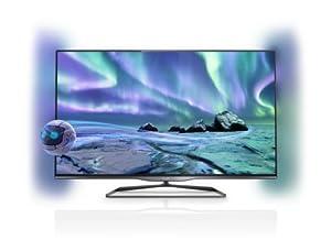 "Philips 5000 series Smart TV LED 3D ultra sottile 47PFL5028K 47"" Full HD Compatibilità 3D Smart TV Wi-Fi Black"