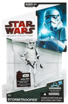 Buy Low Price Hasbro Star Wars 2009 Legacy Collection BuildADroid Action Figure BD No. 46 Stormtrooper (B002VF5BJM)