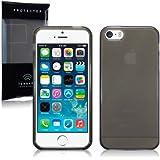 Terrapin TPU Gel Skin Case for iPhone 5S - Smoke Black