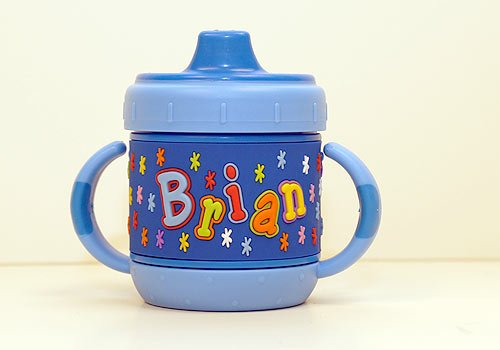 Personalized Sippy Cup: Brian front-857492