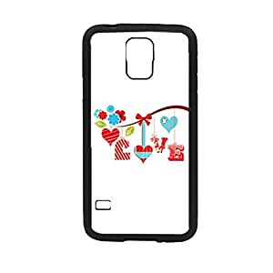 Vibhar printed case back cover for Samsung Galaxy S5 HangingLove