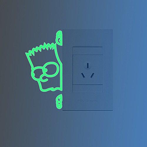 ufengker-interruptor-simpson-pegatinas-de-pared-fluorescencia-brillan-en-la-oscuridad-sala-de-estar-