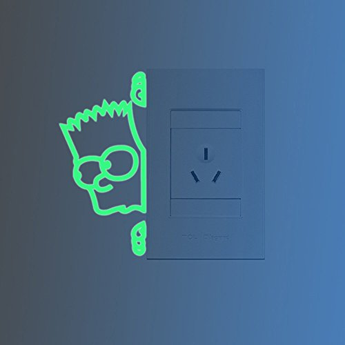 ufengker-simpson-switch-wall-decals-fluorescence-stickers-glow-in-the-dark-living-room-bedroom-remov