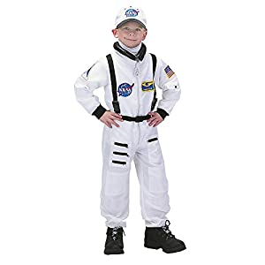 Aeromax Jr. Astronaut Suit with Embroidered Cap and NASA patches by SPIG9