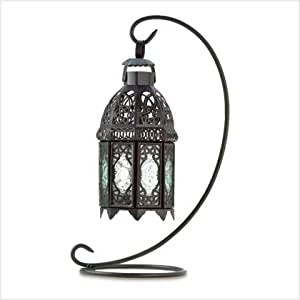 wedding reception decoration ideas, large Moroccan lamp