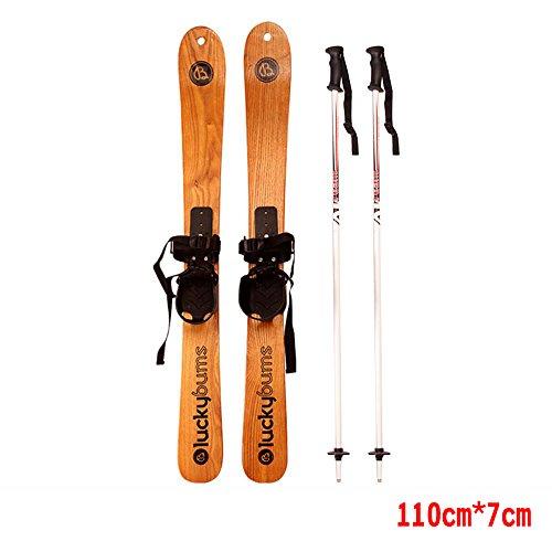 ALUK-Solides-hommes-et-des-femmes-Costume-Bois-skis-peuvent-tre-utiliss-Skateboard-y-compris-la-bataille-de-neige