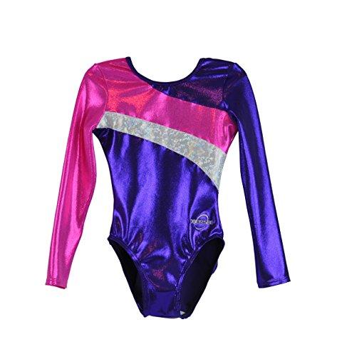 obersee-girls-long-arm-diagonal-gymnastics-leotard-purple-small