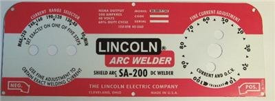 Lincoln-Arc-Welder-Control-Plate-M-10926