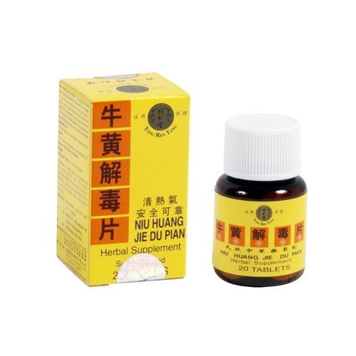niu-huang-jie-du-pian-herbal-supplement-20-pills-by-tong-ren-tang