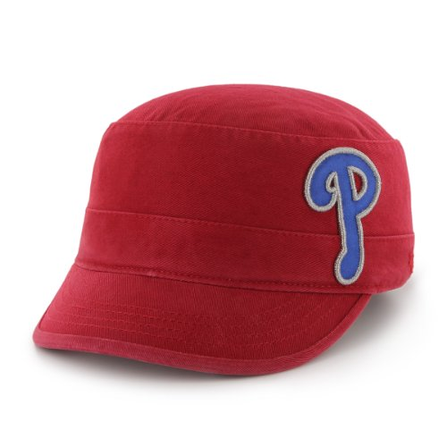 MLB Philadelphia Phillies Women's Clovis Cadet Cap, One-Size, Red at Amazon.com