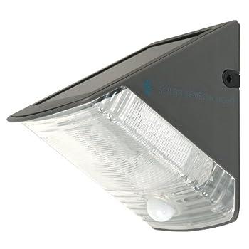 pas cher ranex ra 5000261 lampe murale solaire led avec d tecteur de mouvements import. Black Bedroom Furniture Sets. Home Design Ideas