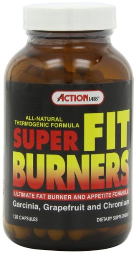 Action Labs super forme Brûleurs, 120-Count