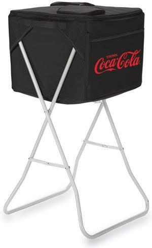 Picnic Time Coca-Cola Party Cube - Black front-310114
