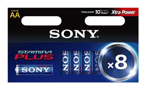 Sony Stamina Plus AM3-M8D - Battery 8 x AA Alkaline
