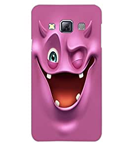 SAMSUNG GALAXY A3 SMILE Back Cover by PRINTSWAG