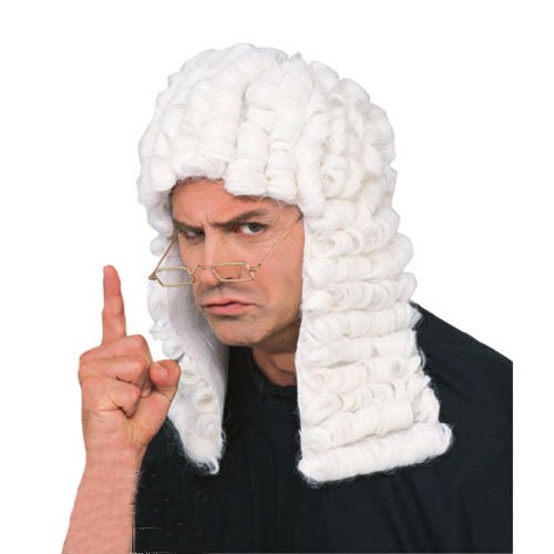 SecretWishesシークレット裁判官服装のかつら SEC-50831O/S