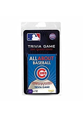 MLB Chicago Cubs All About Baseball Trivia Card Game