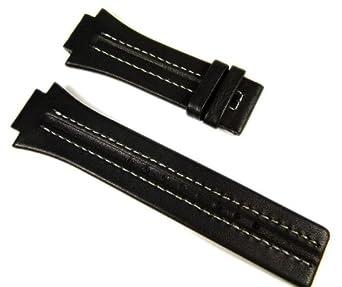 COACH CONSTRUIT PRAM vintage cuir véritable suspension sangles en noir