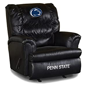 NCAA Penn State Nittany Lions Big Daddy Leather Recliner by Imperial