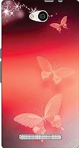 John Richard Printed Back Cover For LYF Wind 4 ARTICLE-44721