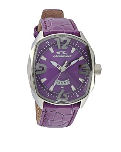 Chronotech Reloj de cuarzo Force Morado 37  mm