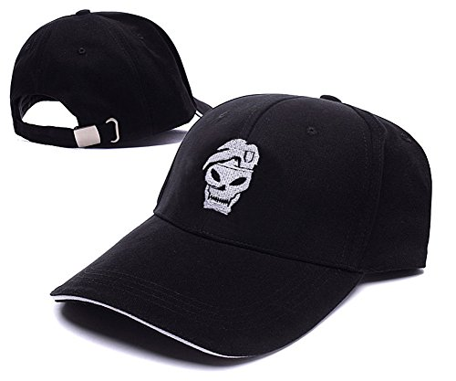 Call Of Duty Black Ops Skull Logo Cap