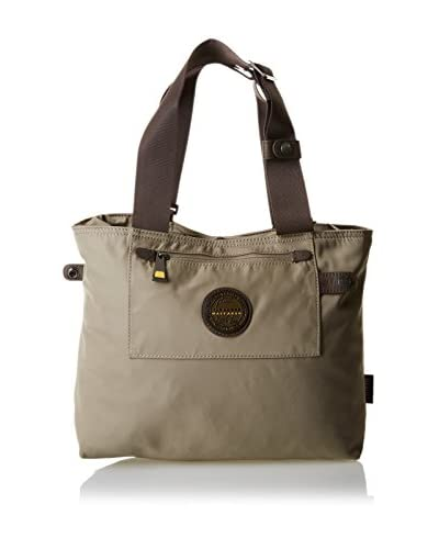 The Bridge Wayfarer Schultertasche beige